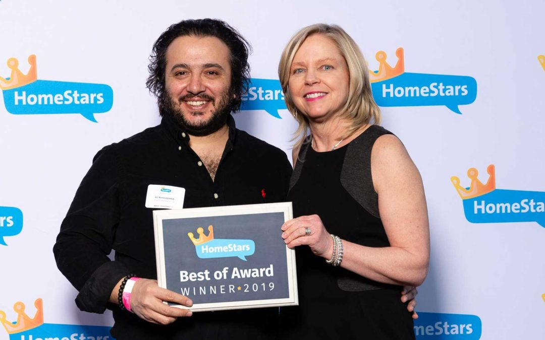 SUMMIT CONTRACTORS WINS 2019 HOMESTARS BEST OF AWARDS
